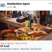 Hej på er! 🍃VIP kväll 27 maj 2021🍃 Gå in på vår facebooksida för mer information! Varmt välkomna 🤗 Kram \ Astrid & Kristina 🌷🌷 #gävle #skutskär #älvkarleby #älvkarlebykommun #tierp #uppland #gävleborg #uppsala #fransa_fashion #soyaconceptsweden #soyaconcept #vila_official #chicalondon #caramellefashion #riekersweden #rieker #shoppalokalt #norrauppland #upplevnorduppland #gävlecity #gemini_smycken_