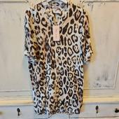Tunika Leopard från Chica London i 100% viskos. Finns i S/M, M/L, L/XL. Pris 399;- På vår hemsida www.agnesmode.se hittar ni alla plagg! Våra öppettider är: Mån-ons 14-18 Tors-fre 10-14 Lör 10-13 Varmt välkomna 🤗 Kram \ Astrid & Kristina 🌷🌷 #gävle #skutskär #älvkarleby #älvkarlebykommun #tierp #uppland #gävleborg #uppsala #fransa_fashion #soyaconceptsweden #soyaconcept #vila_official #chicalondon #caramellefashion #riekersweden #rieker #shoppalokalt #norrauppland #upplevnorduppland #gävlecity #gemini_smycken_